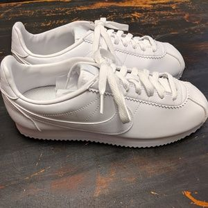 Nike Classic Cortex White Leather Sneaker